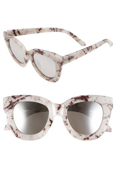 Junior Women's Quay Australia 'Sugar & Spice' Cat Eye Sunglasses $50, available here: rstyle.me/~7Y6Mc