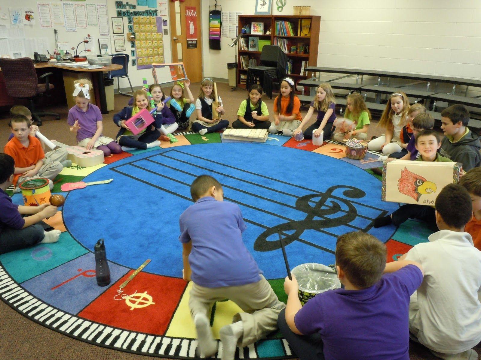 Elementary Music Class Second Third Grades