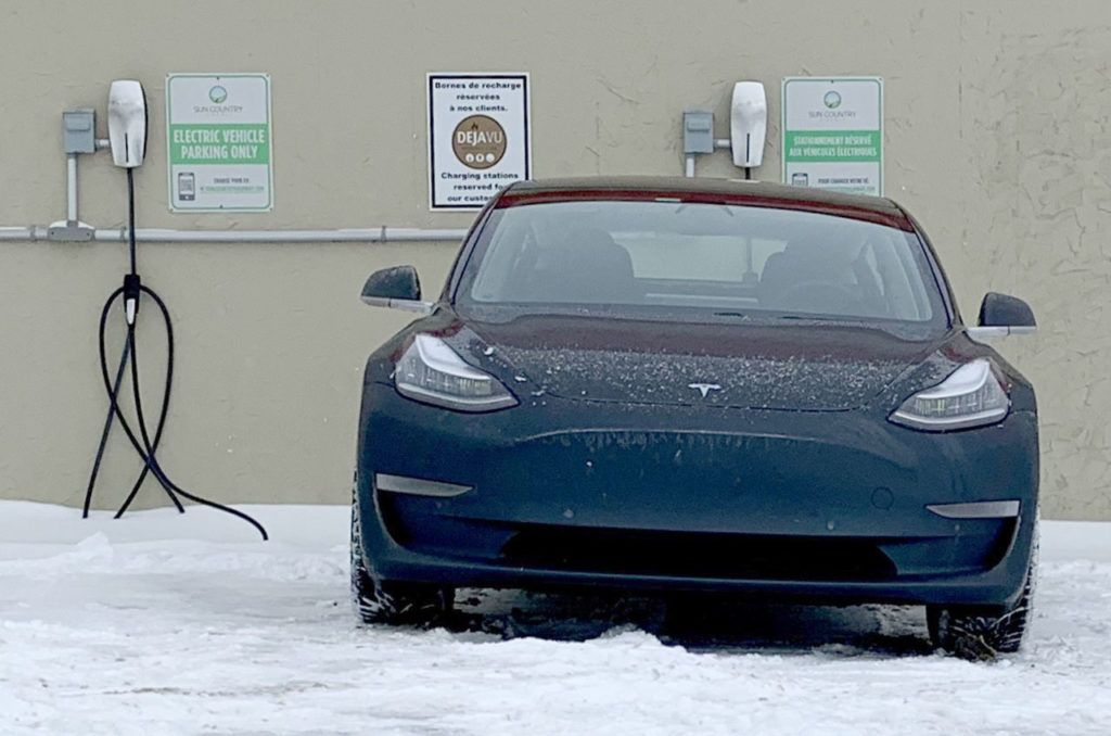 The true story of a Model 3 Performance snow rallying at ...