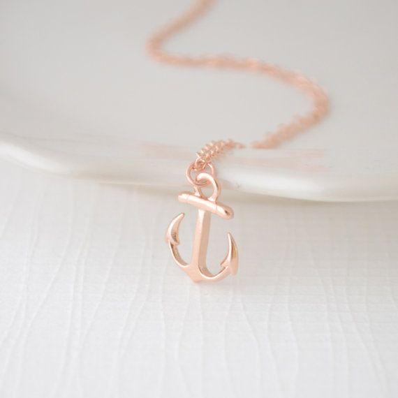 Anchor pendant necklace silver gold rose gold anchor 1169 anchor pendant necklace silver gold rose gold anchor 1169 aloadofball Images