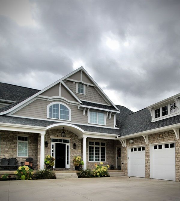 Fond Du Lac Country Squire Veneer Stone Home