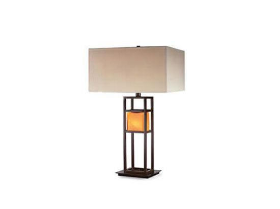 This Seems A Bit Top Heavy But There S Still Something I Like About It Simple Structure Maybe Table Lamp Lamp Large Floor Lamp