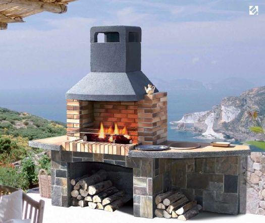 chimeneas sirvent venta de barbacoas de obras en alicante valencia y benidorm barbacoa de obra de niza tiene una gran capacidad nterior cou