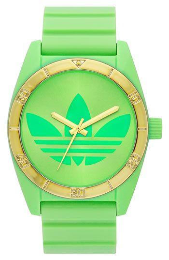 09c353bc0 adidas Originals 'Santiago' Neon Watch available at #Nordstrom ...