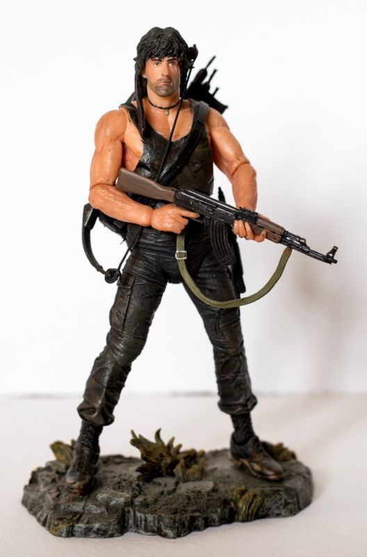 RAMBO First Blood Part II (Rambo) Custom Action Figure