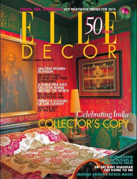 An Indian Summer Elle Decor India Collectors Copy