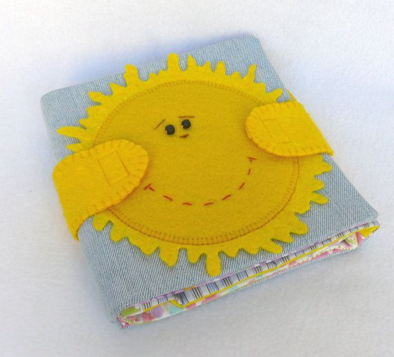 Handmade soft book for babies and toddlers by Visotskayahandmade, $47.00