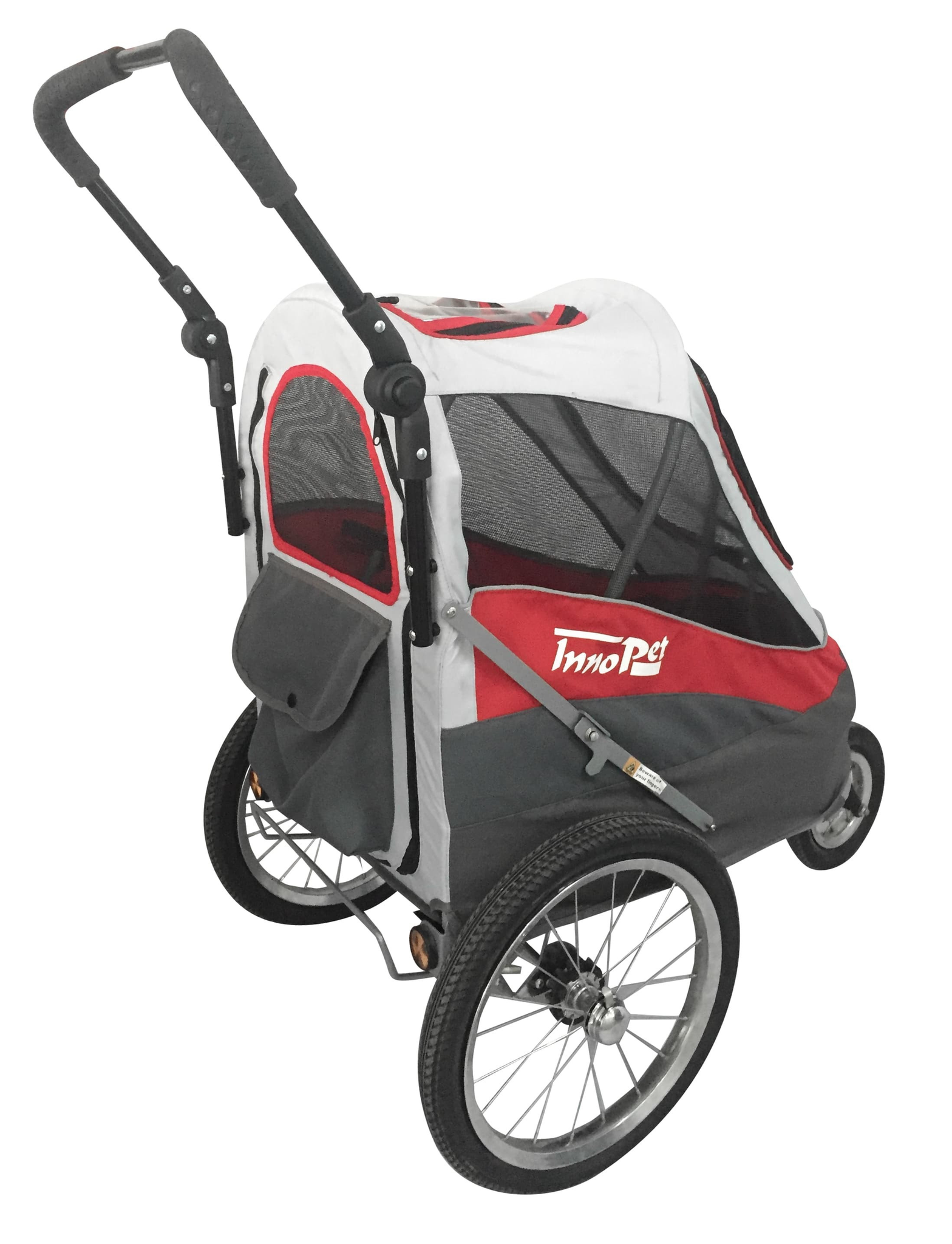 Sporty Pet Stroller and Bike Trailer by InnoPet Red