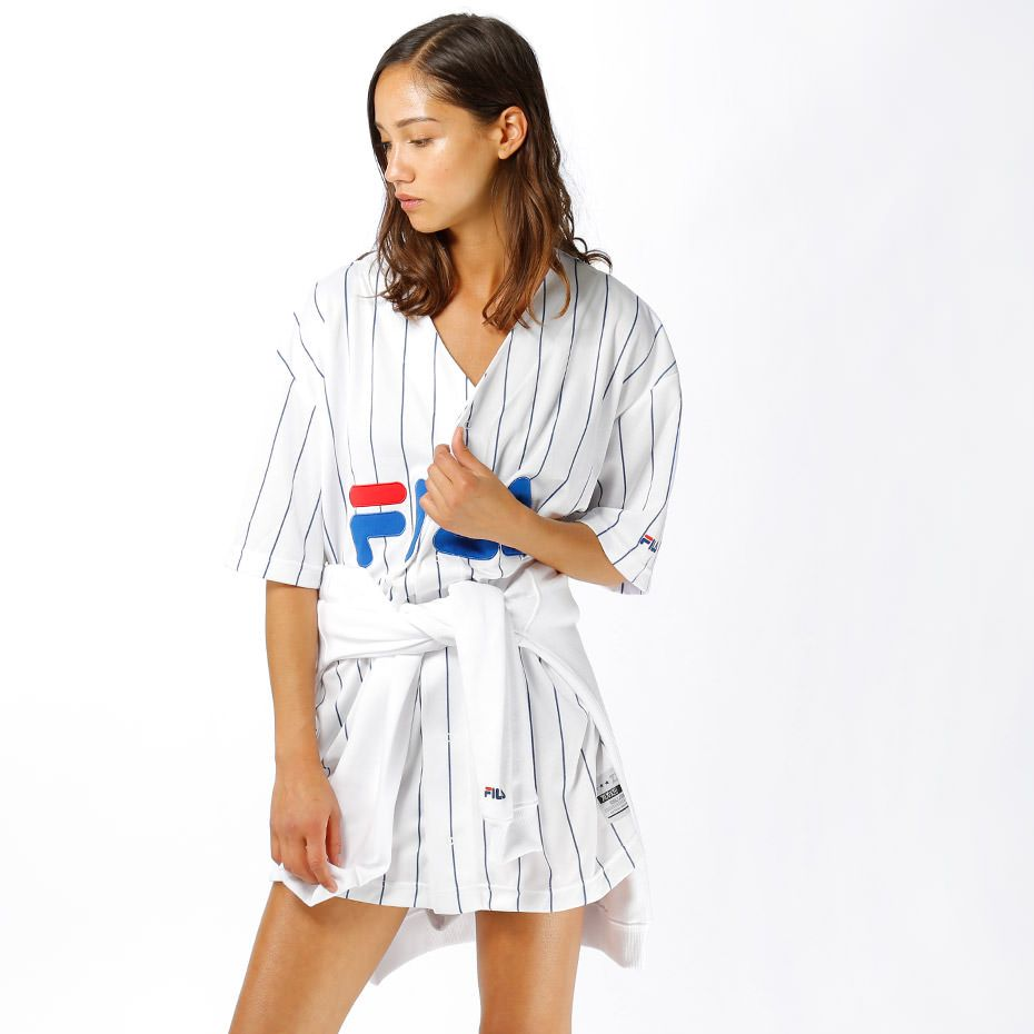 Femme Baseball – Élégantes Fila Veste Vestes Populaires Y7yIbf6gvm