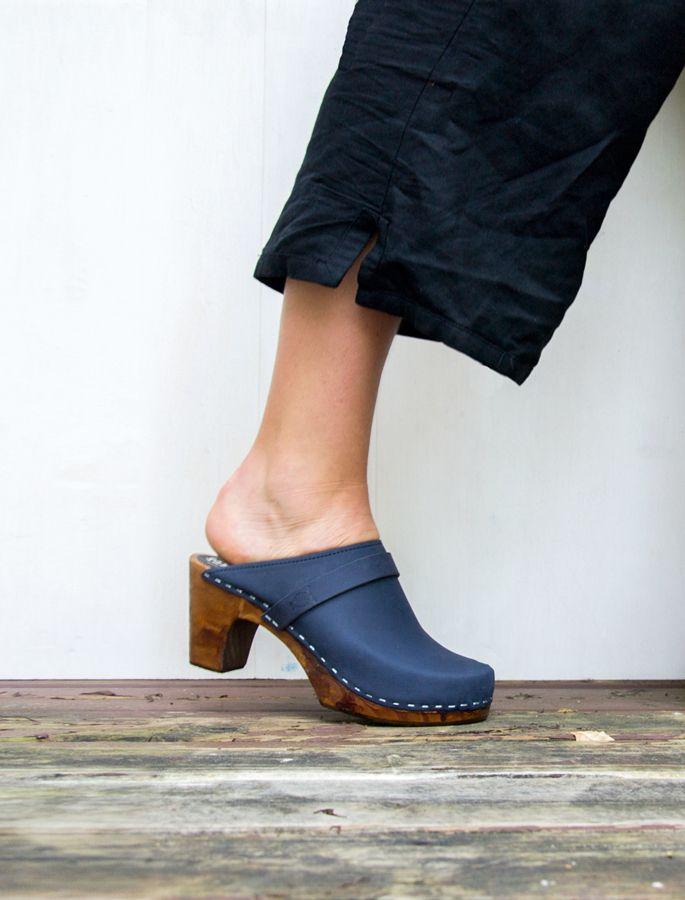 4ecd12738dba9 Swedish Clogs| High Heel Sandals| Leather Sandals| Handmade Shoes ...