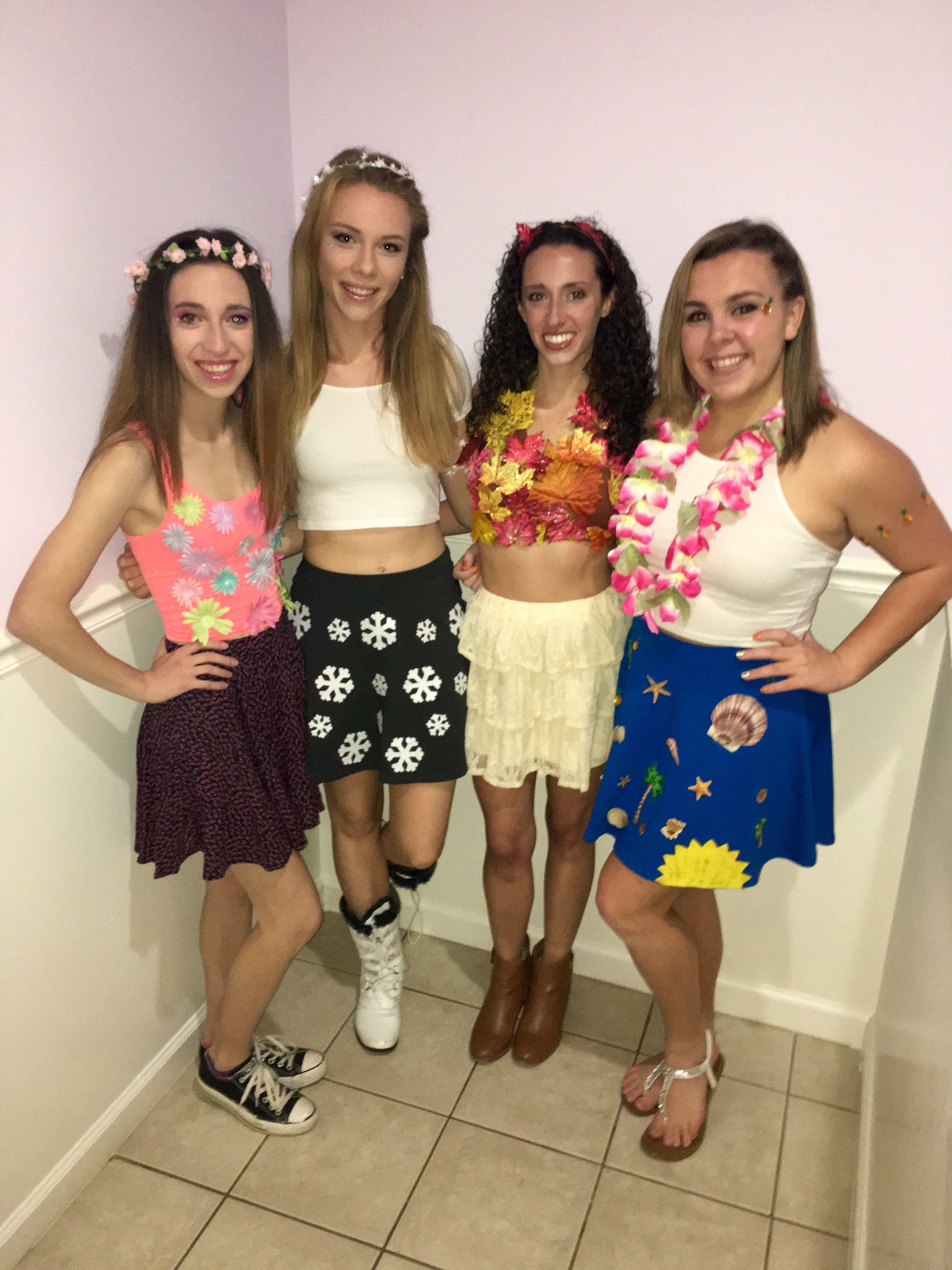 four seasons halloween costume   halloween in 2018   pinterest