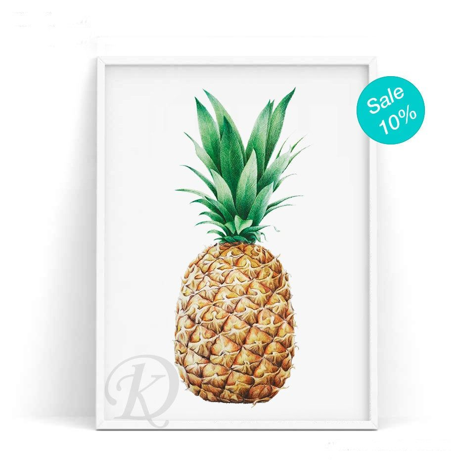 Be A Pineapple Food Poster Pineapple Art Pineapple Print Pineapple Party Kitchen Wall Art Pineapple Wall Art In 2020 Pineapple Wall Art Pineapple Art Kitchen Wall Art