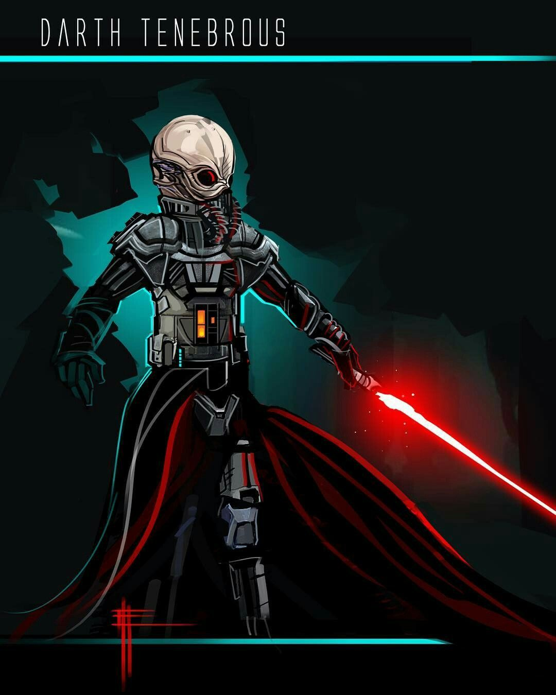 Reddit Darth Tenebrous by Eli Hyder : StarWars Fan