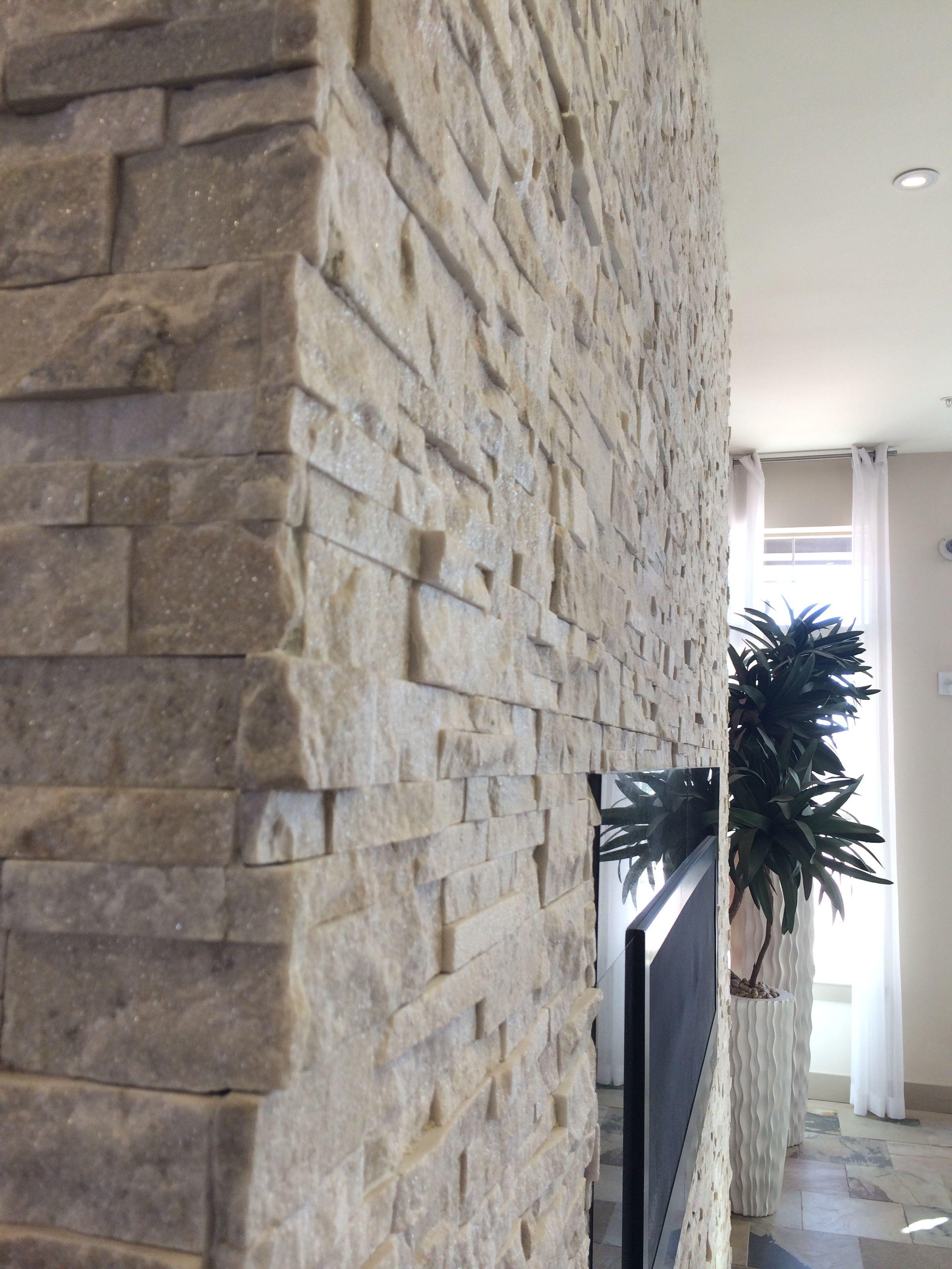 Rock Wall In 2020 Rock Wall Home Condo
