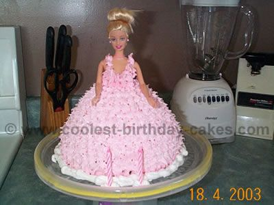 Coolest Barbie Cake Designs to Make Awesome Barbie Cakes Birthday