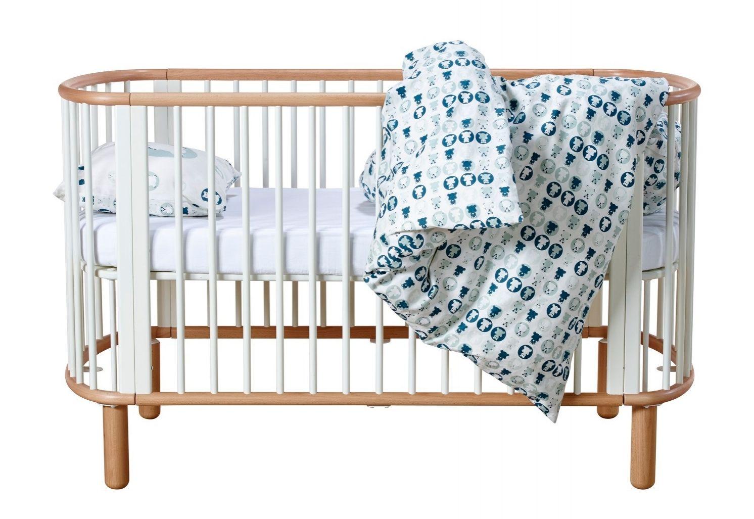 Babyzimmer Len ikea babybett volant len bettvolant zum verhängen des bettgestells
