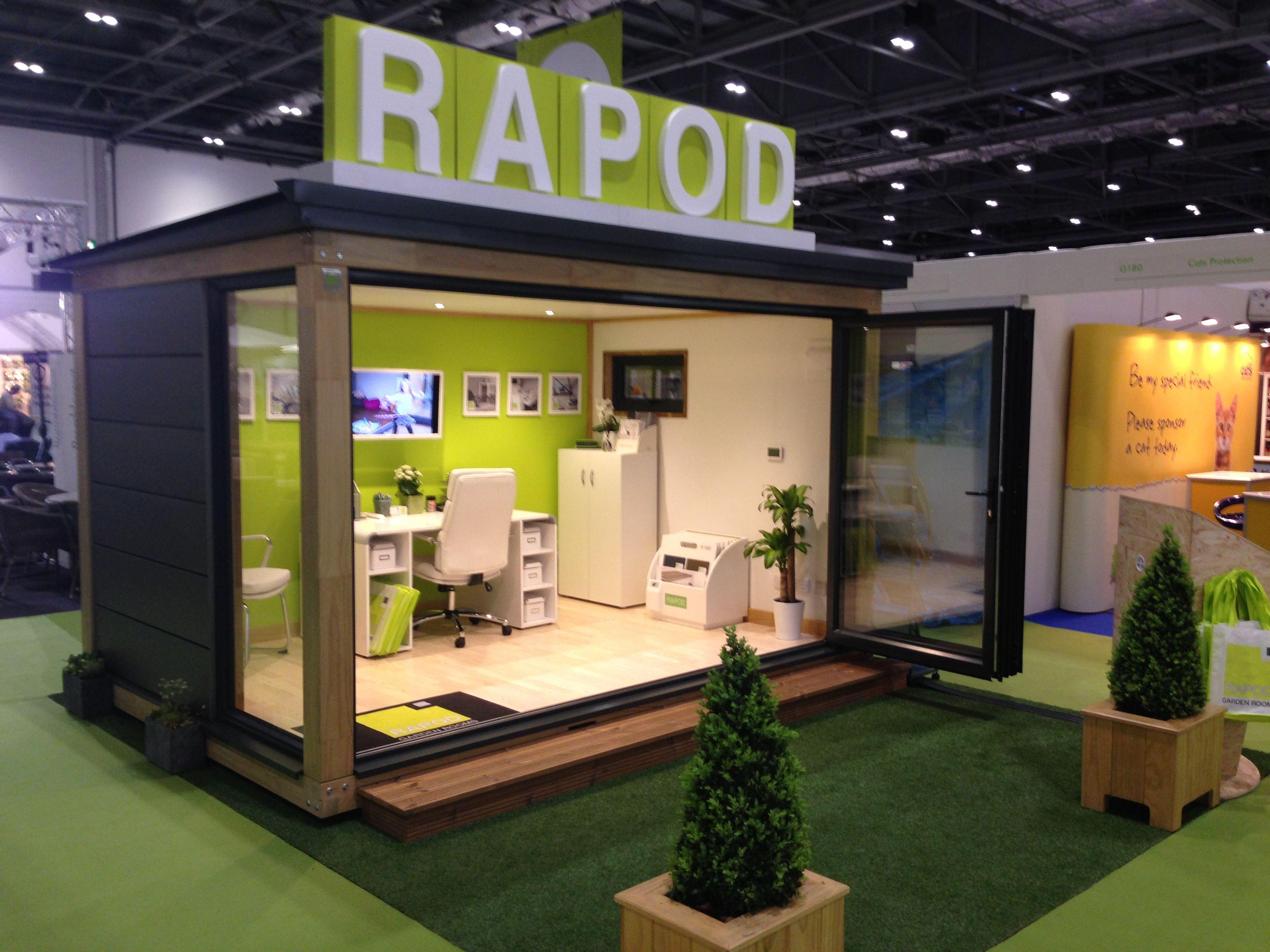 RAPOD Garden Room At Grand Designs Live 2014