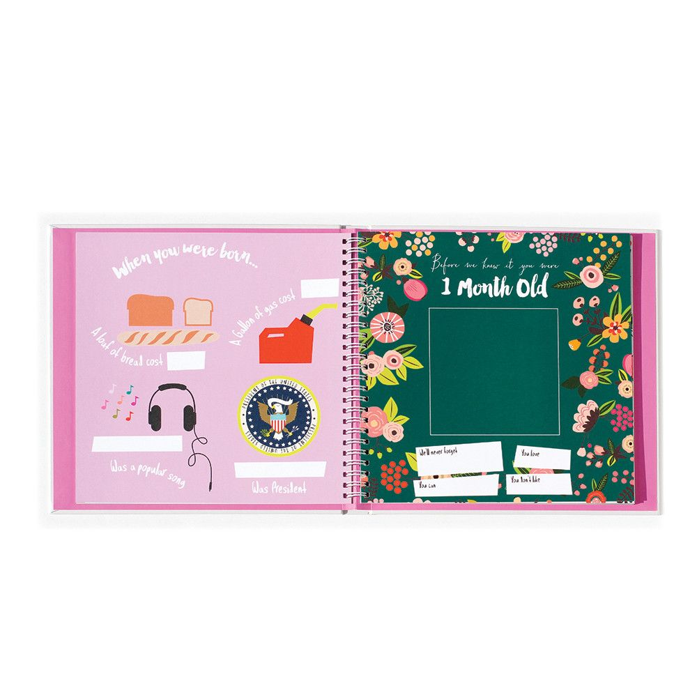 A Simple Book of Firsts Little Love Lucy Darling Babys First Year Memory Book