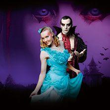 ArtTeatro Cirque Dracula - Vampire cabaret  Uskallatko viettää intiimin illan Kreivi Draculan vieraana? Casino Helsinki ― 11.11.-19.12.2015.