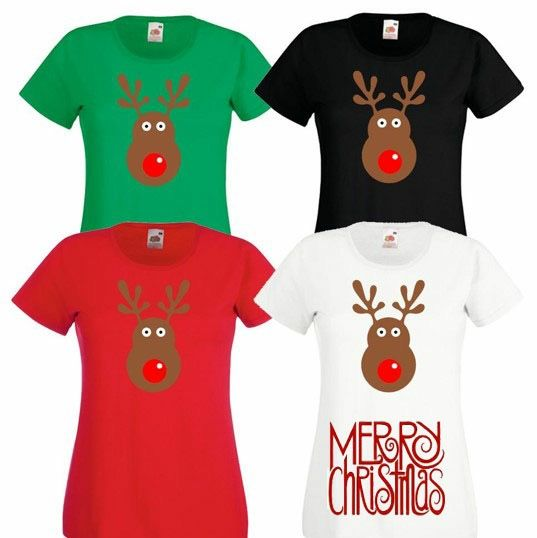 Camisetas personalizadas para toda la familia Navidad