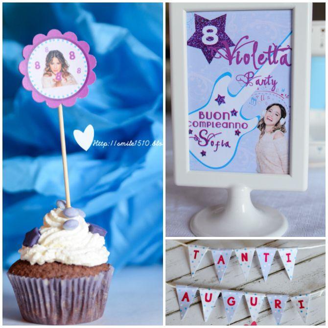 Ballando con Sofia: Violetta Party {Compleanno a tema Violetta