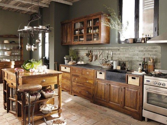 Cuisine campagne maison du monde | Belle cuisine | Pinterest ...