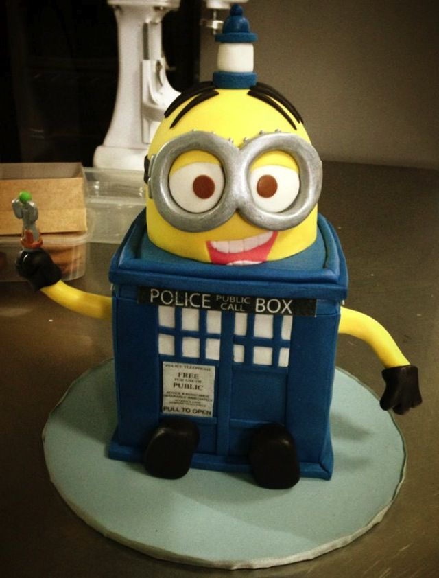 Doctor Who Cakes