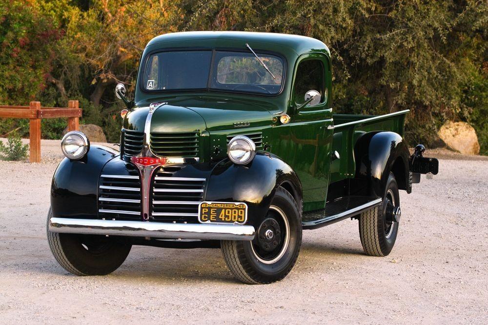 1939 1947 Dodge Trucks Dodge Pickup Dodge Trucks Old