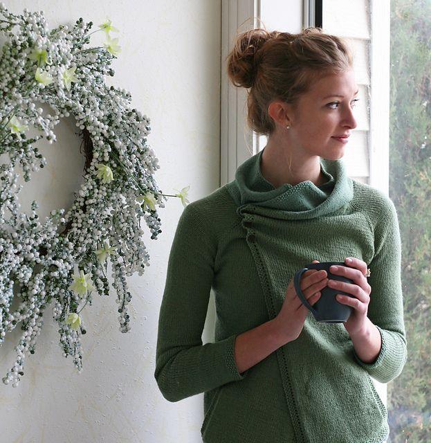 Ravelry: Clarity Cardigan pattern by Gretchen Ronnevik