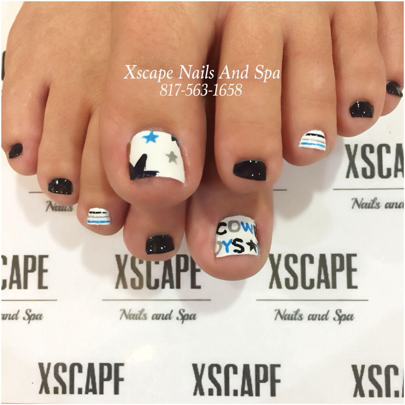 Dallas cowboys nail designs | Cute Nails Designs | Pinterest ...