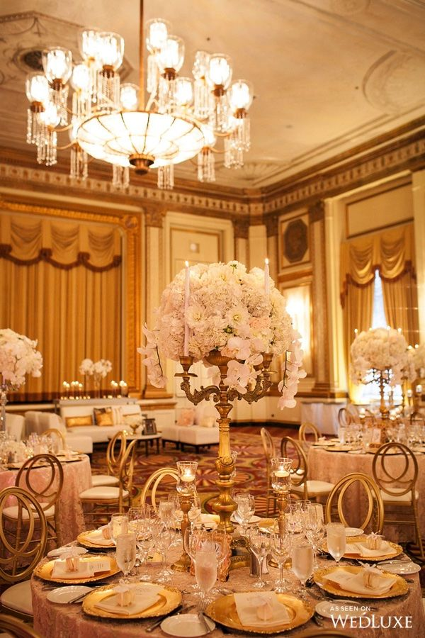 Wedluxe A White Fl Filled Wedding With Gilded Details Photography By Sweet Pea Follow For More Inspiration