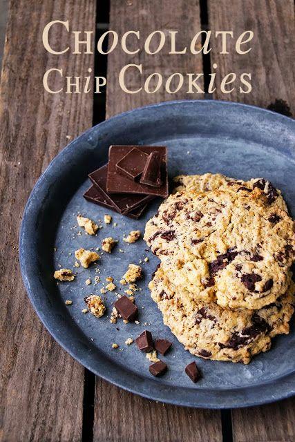 Seelenschmeichelei: {Chewy Chocolate Chip Cookies} Oder: Ein Keksdieb-Krimi mit Happy End.
