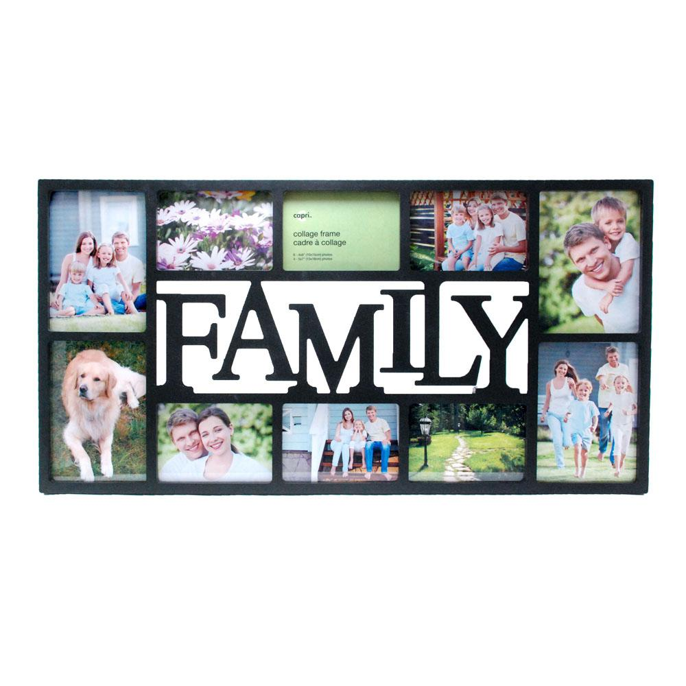 Family 14.5 in. x 28.5 in. 10 Opening 4-5 x 7 in and 6-4 x 6 in ...
