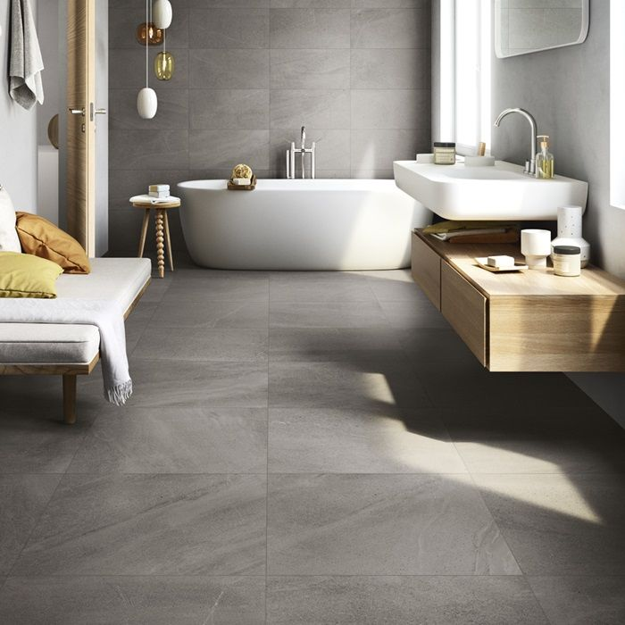5 Gorgeous Scandinavian Bathroom Ideas: A New Limestone Impression Porcelain From