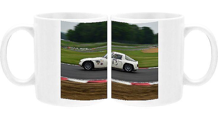 Photo Mug-CM13 7360 Jon Wolfe, David Thompson, TVR Tuscan V8-11oz White ceramic mug made in the USA #davidthompson