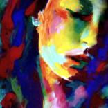 "Saatchi Art Artist: Helena Wierzbicki; Acrylic 2014 Painting """"Like a madonna"""""