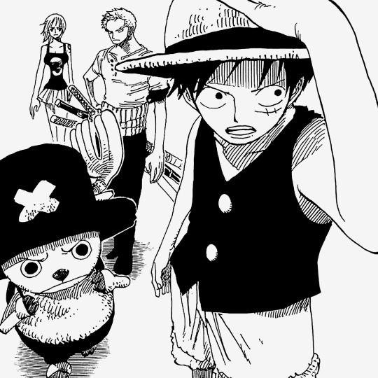 Luffy chopper zoro and nami one piece manga pinterest manga one pi ce manga et dessin manga - Zoro one piece dessin ...