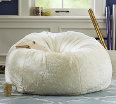 Fluffy Lovesac Bean bag chair, Small bean bag chairs