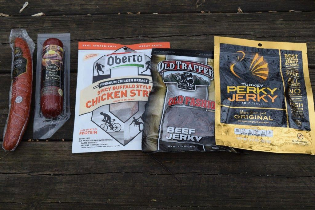 Backpacking meals from the grocery store backpacking