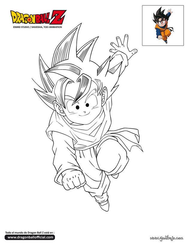 Dibujos De Dragon Ball Af Para Colorear E Imprimir | Pintar imágenes ...
