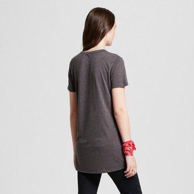 0a058134 Women's Short Sleeve Sagittarius Seal Graphic T-Shirt - Modern Lux  (Juniors') Gray Xxl