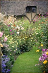 Photo of 01 Atemberaubende Cottage Garden-Ideen für die Inspiration im Vorgarten – DoMakeover.com
