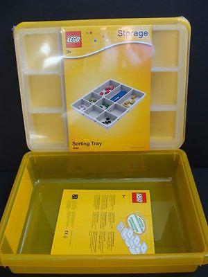 NEW-LEGO-Storage-Box-Sorting-Tray-Yellow-Bin- & NEW LEGO Storage Box + Sorting Tray Yellow Bin Lid Project Case ...