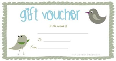 Free printable gift vouchers Instant download No registration – Printable Vouchers
