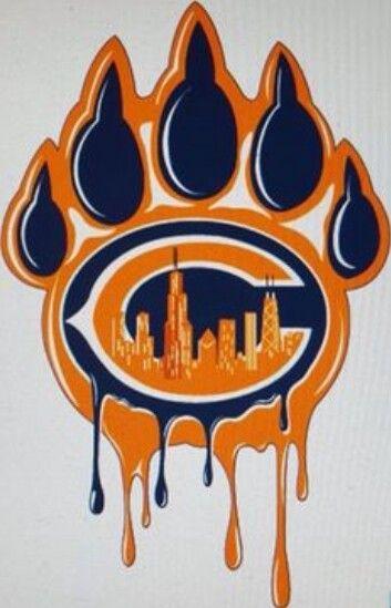 Da Bear Claw Chicago bears tattoo