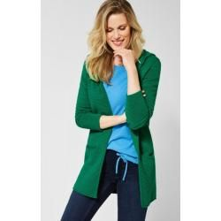 Photo of Cecil – Lana long cardigan in Lucky Clover Green Cecil