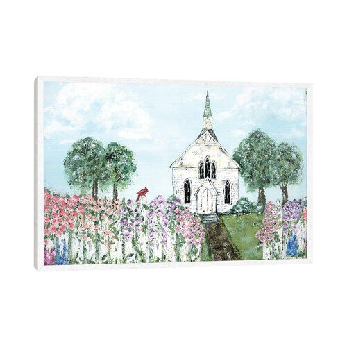 Sunday Morning by Ashley Bradley - Art Print on Canvas Ebern Designs Format: White Framed, Size: 45.72cm H x 66.04cm W x 3.81cm D