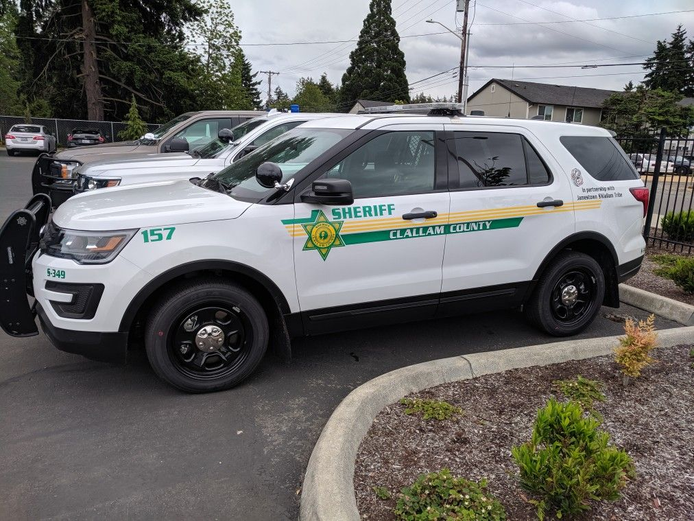 Clallum County Wa Sheriff 157 Ford Police Interceptor Utility Ford Police Police Cars