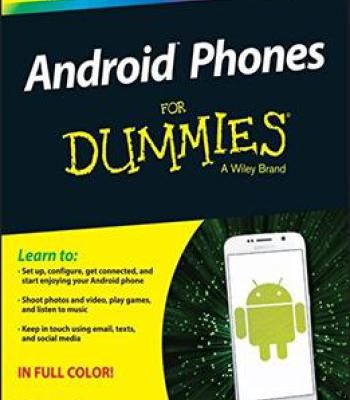 Android Phones For Dummies For Dummies Computertech Pdf
