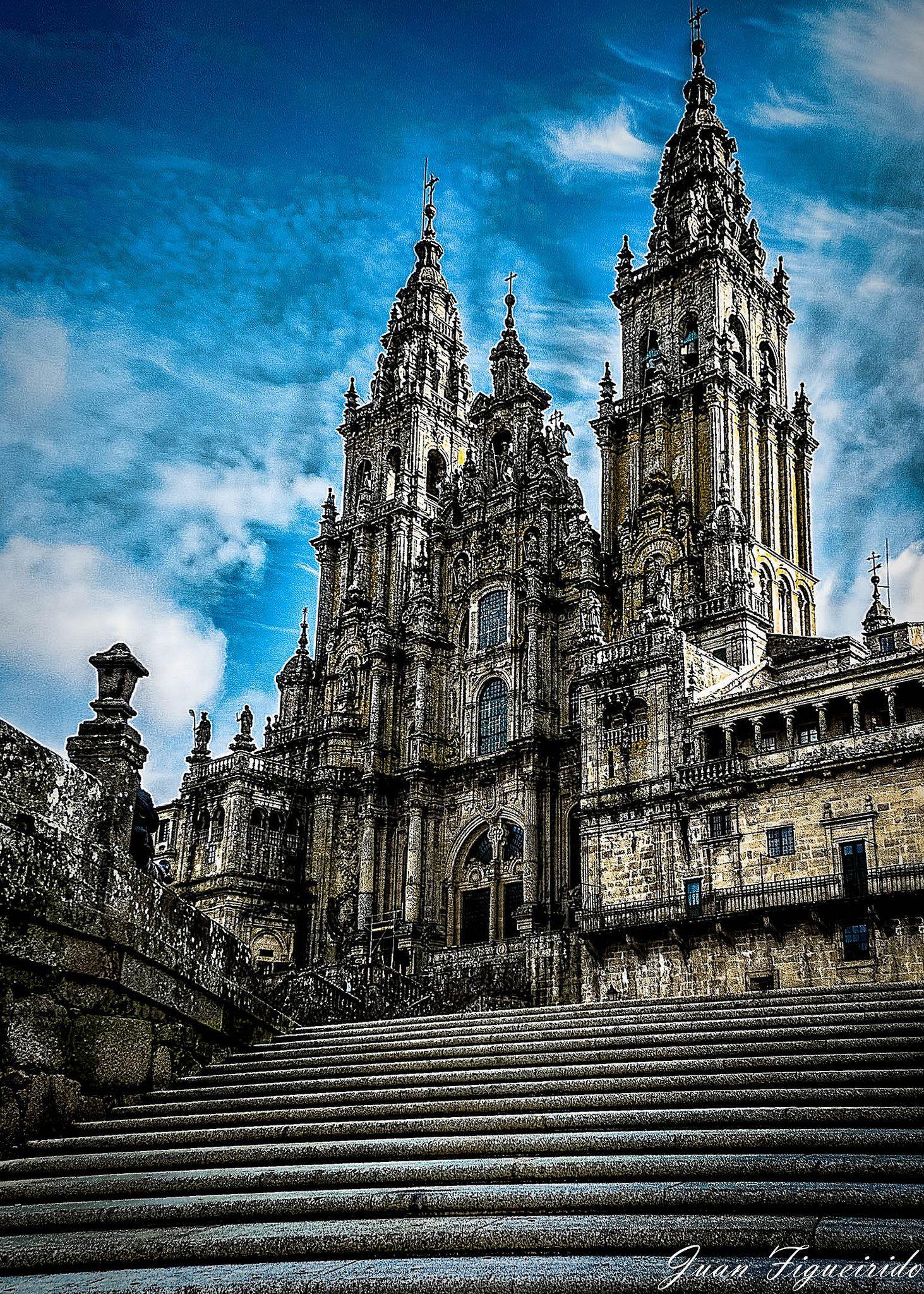 Catedral De Santiago De Compostela Santiago De Compostela Santiago Catedral